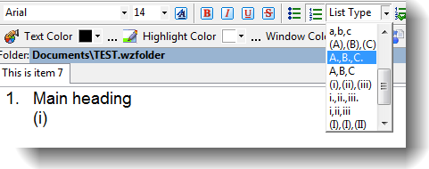 Changing number format of the nested list
